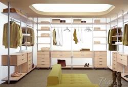 Полки и гардеробные комнаты на заказ