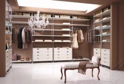 Шкаф в гардеробную комнату под заказ