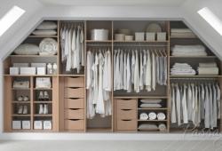 мансарда гардеробная комната на заказ