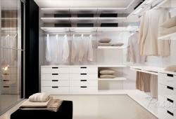 Шкаф в гардеробную комнату на заказ