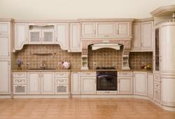 Образец кухни из массива дерева №13 на заказ