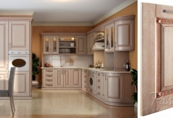 Кухня из МДФ Патина АФИНЫ